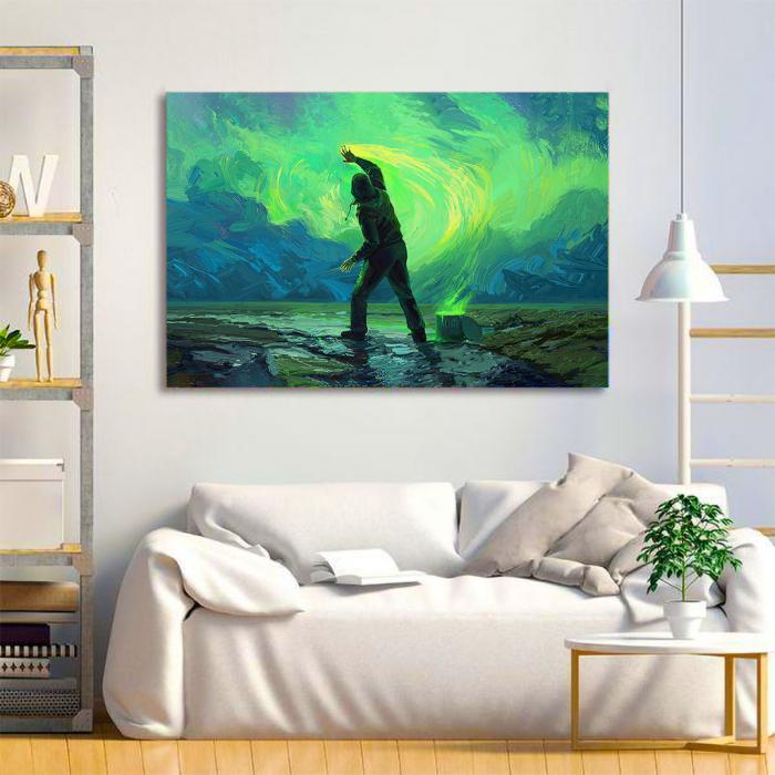 Tablou Canvas - Aurora 1