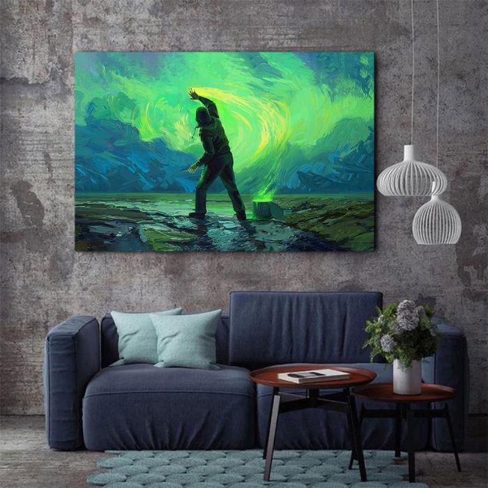 Tablou Canvas - Aurora 2