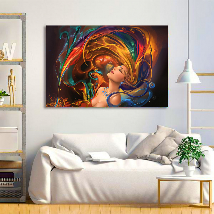 Tablou Canvas - Colors shower 1