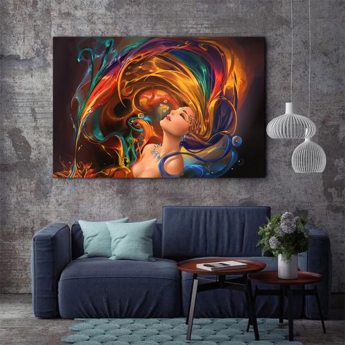 Tablou Canvas - Colors shower 2