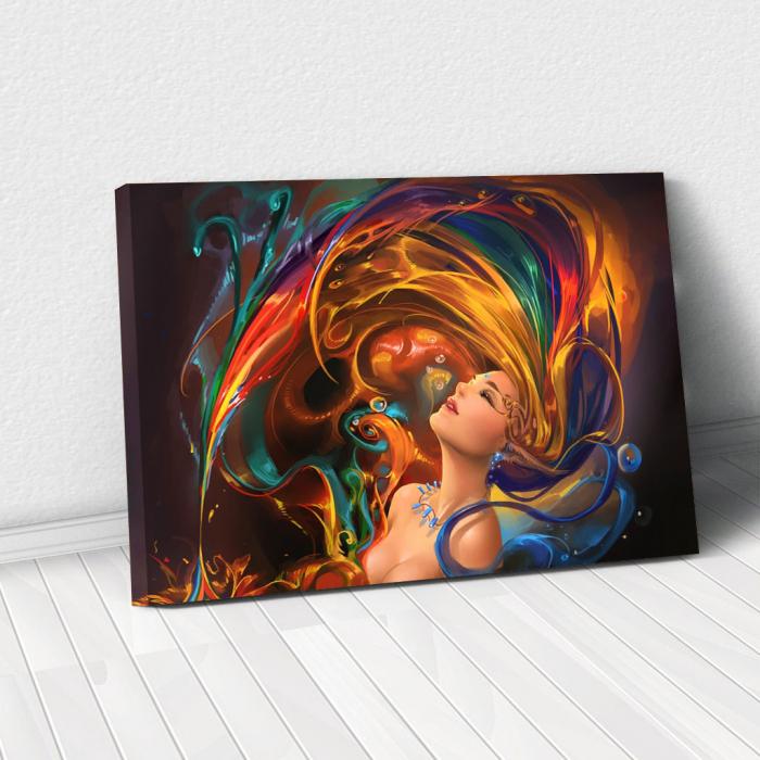 Tablou Canvas - Colors shower 0