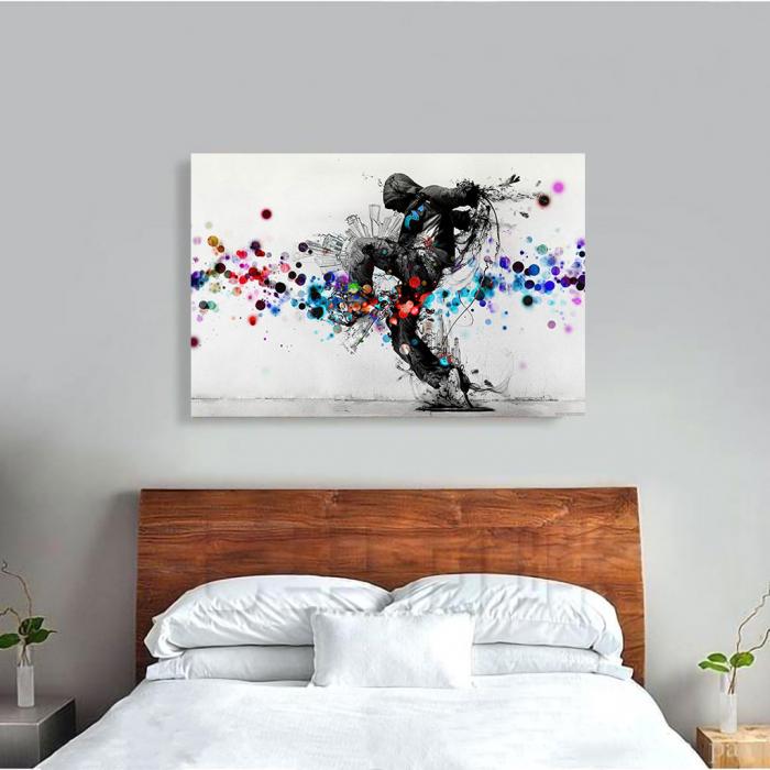 Tablou Canvas - Street art [3]