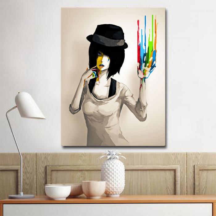 Tablou Canvas - Color print 1