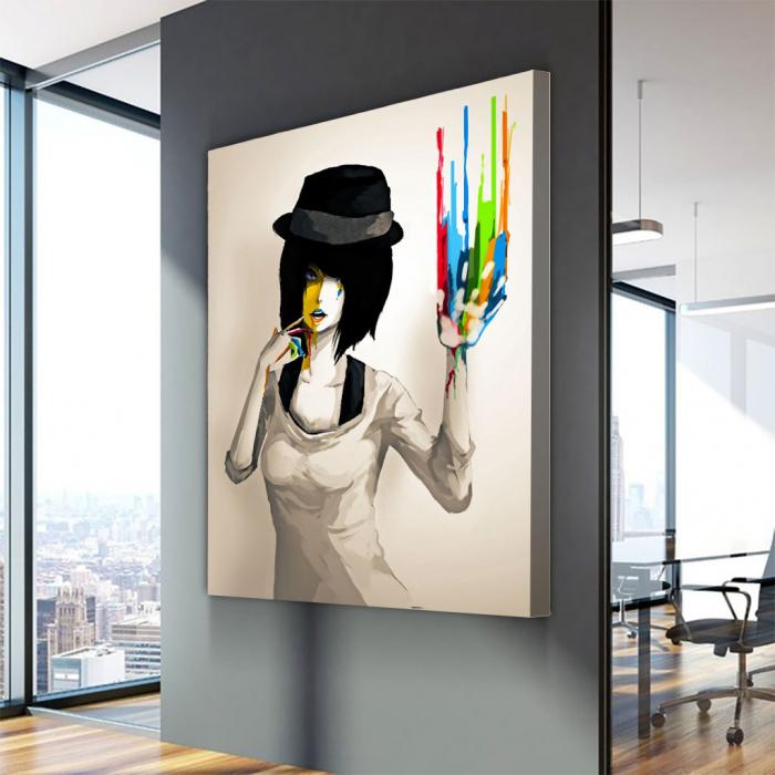 Tablou Canvas - Color print 2
