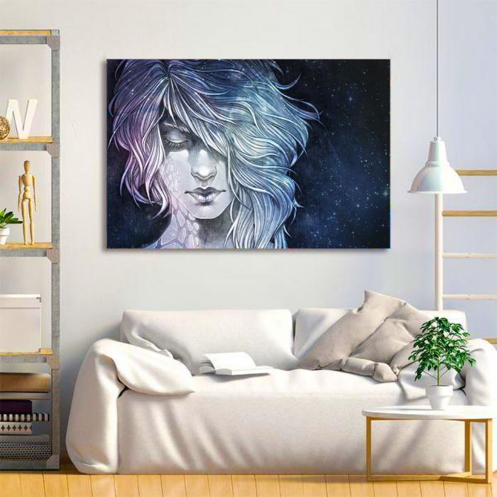 Tablou Canvas - Universal woman 1