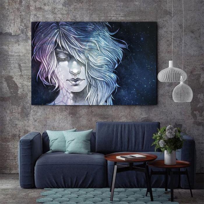 Tablou Canvas - Universal woman 2