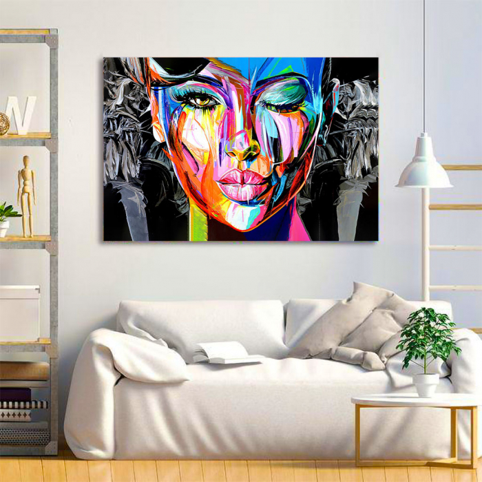Tablou Canvas - Portret creativ 1