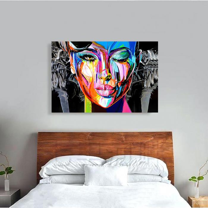 Tablou Canvas - Portret creativ 3