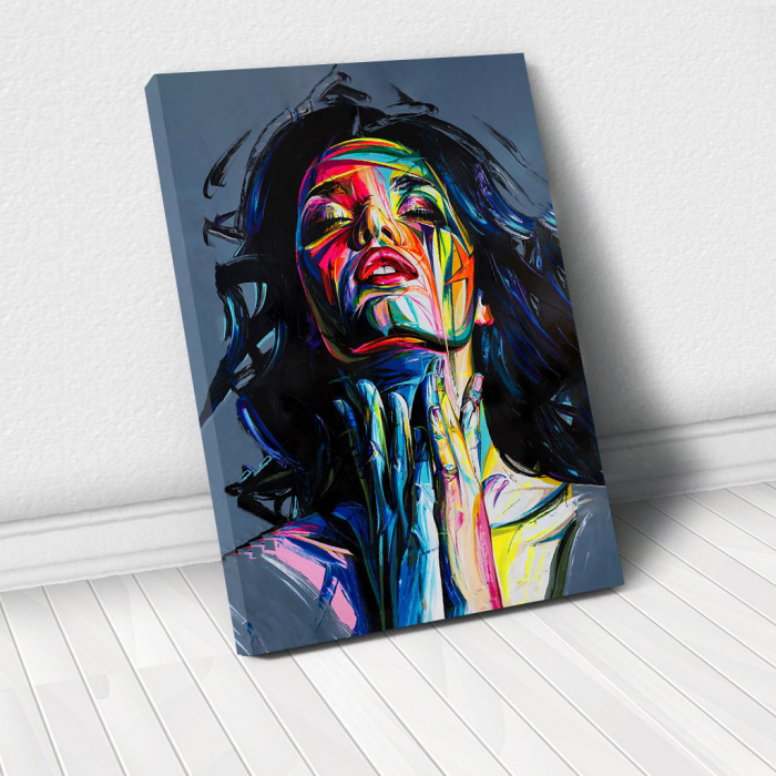 Tablou Canvas - Painted girl art 0