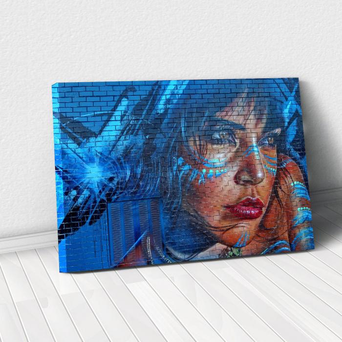 Tabloul Canvas - Grafitti art brick [0]