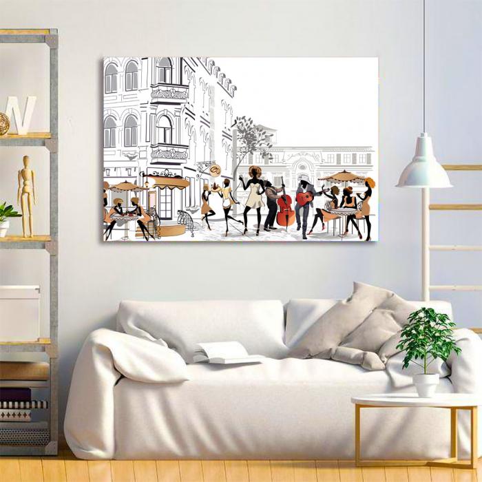 Tablou Canvas - Lifestyle in Paris 2