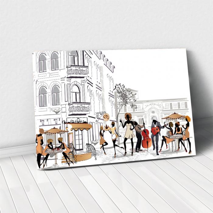 Tablou Canvas - Lifestyle in Paris 0