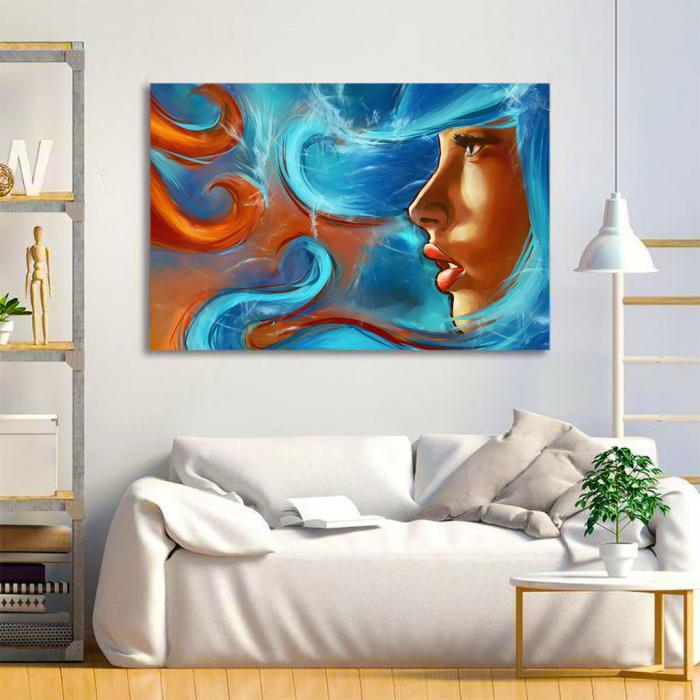 Tablou Canvas - Elemental girl 1
