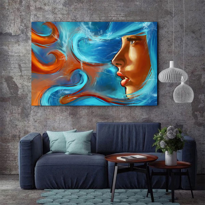 Tablou Canvas - Elemental girl 2