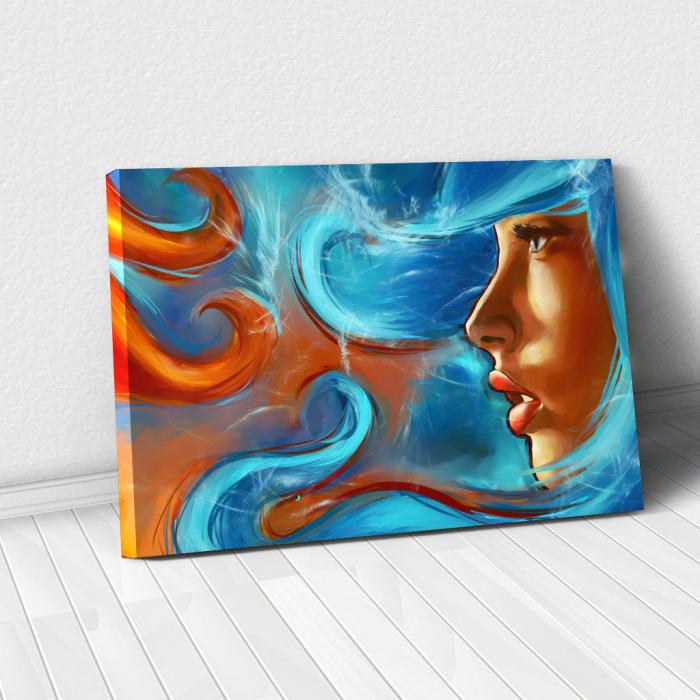Tablou Canvas - Elemental girl 0