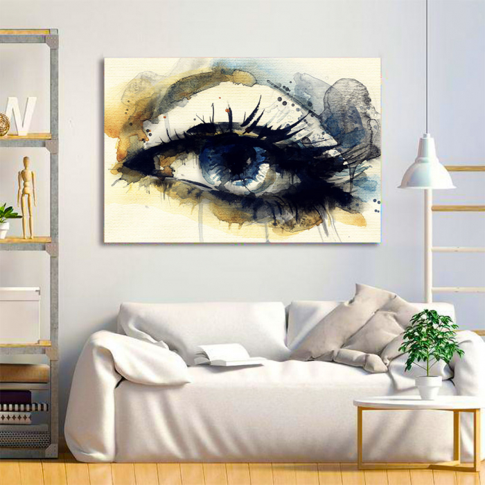 Tablou Canvas - Eye art 1