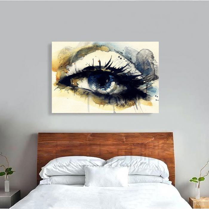 Tablou Canvas - Eye art 3