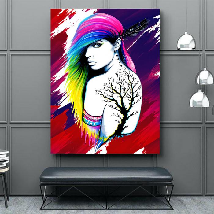 Tablou Canvas - Tattoo creativ 2