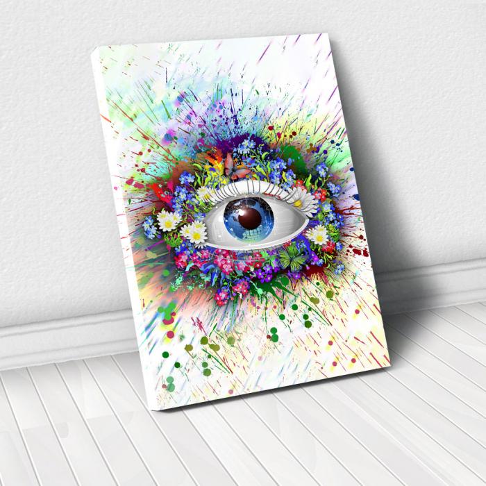 Tablou Canvas - Ochi digital 0