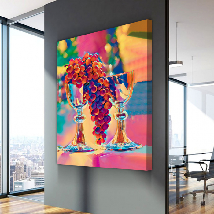 Tablou Canvas - Desen static 2