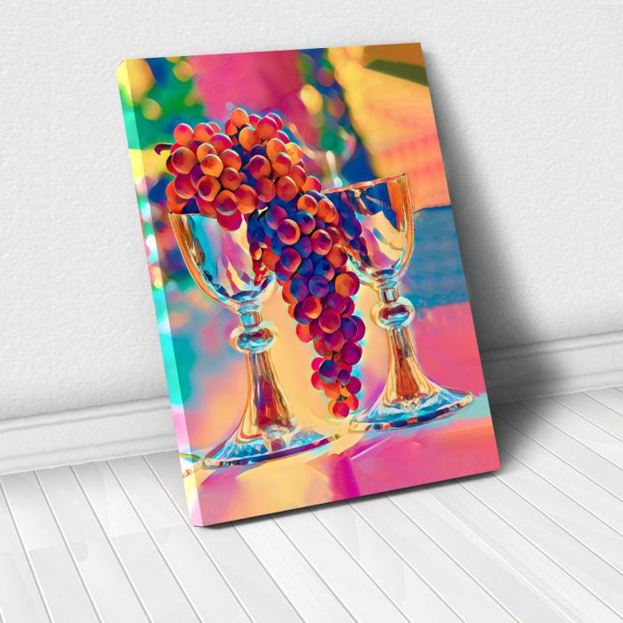 Tablou Canvas - Desen static 0