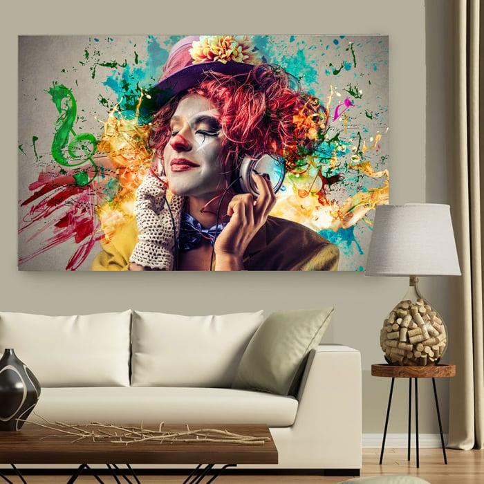 Tablou Canvas - Music Vibes 2