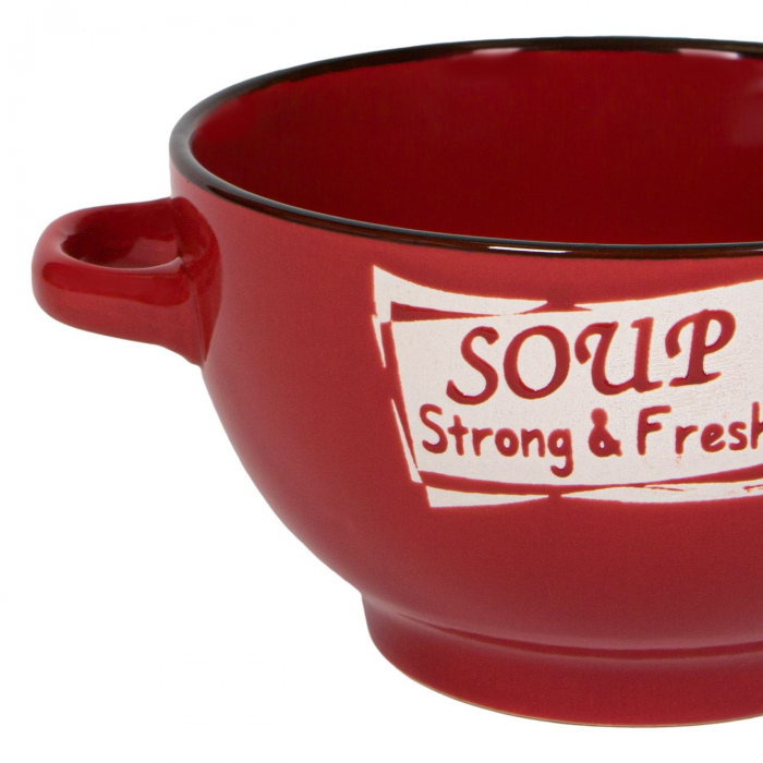 Castron din ceramică pentru supă,650 ml [1]