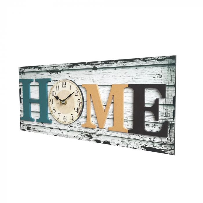 "Ceas dreptunghiular""HOME""40 x 17 x 4.5 cm [1]"
