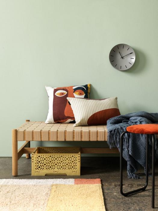 Ceas de perete, analog, rotund, din plastic - 25cm [1]
