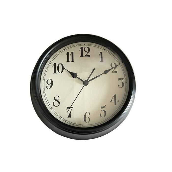 Ceas de perete, analog, rotund, din metal - 36cm [0]