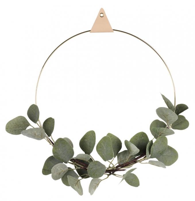 Coroniță decorativă din alamă - 30cm 0