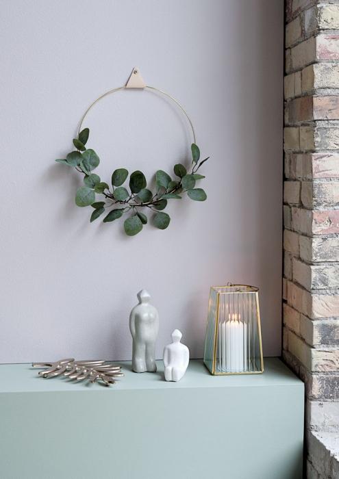 Coroniță decorativă din alamă - 30cm 1