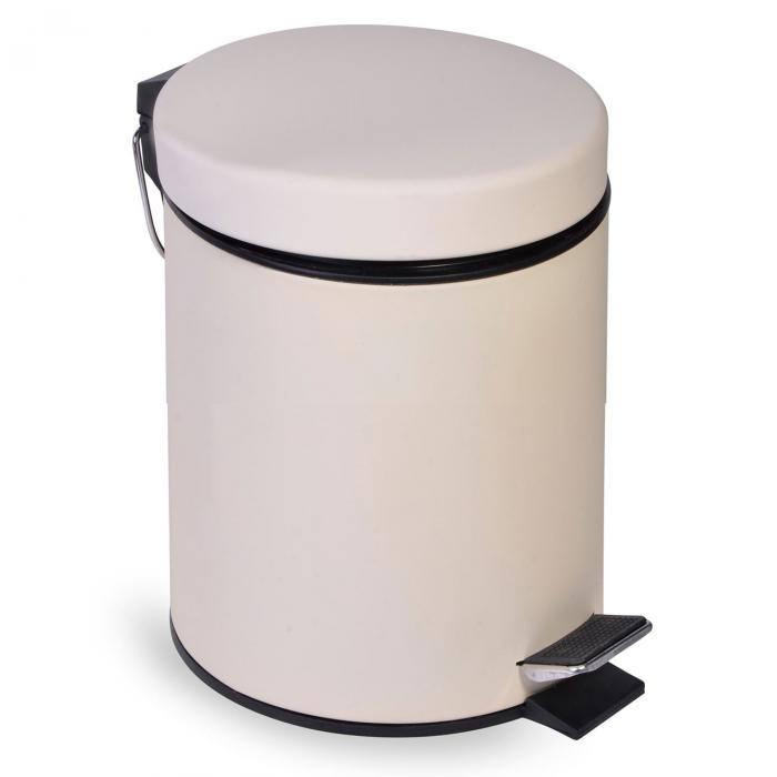 Coș  de gunoi cu acoperire mată-5l [0]