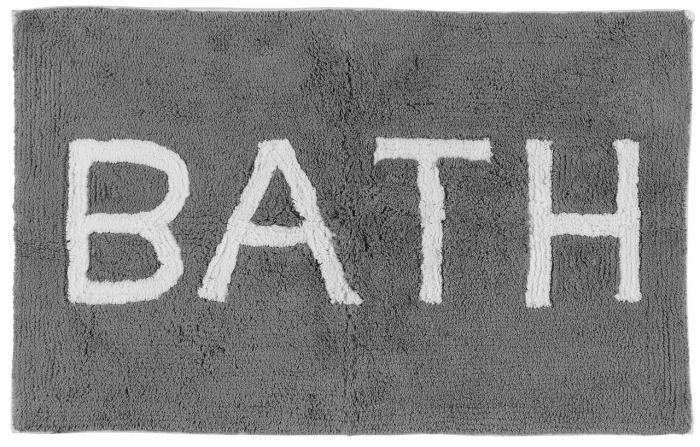 """Covoraș baie gri """"Bath"""" - 50x80cm 0"""