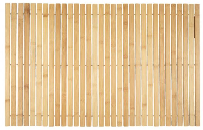 Covor de baie din bambus 50x80cm 0