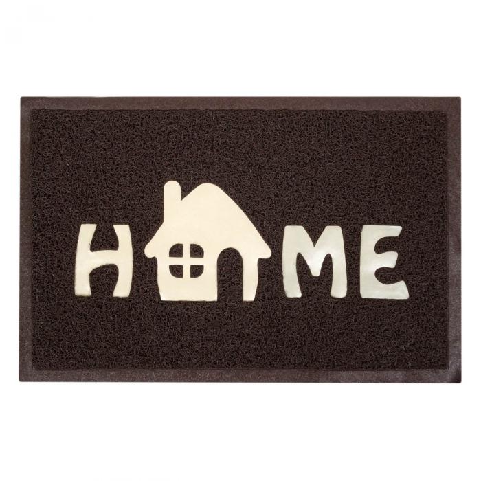 "Covor usa Brown ""HOME"" 60x40 cm [0]"