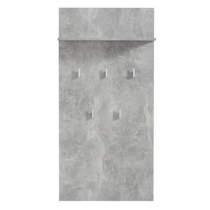 Cuier hol Calliope cu 5 agățători 137cm 0