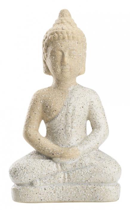 Decorațiune figurină Buddha din ceramică 21cm 0