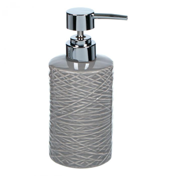 Dozator de săpun de culoare gri,cu model,325 ml 0