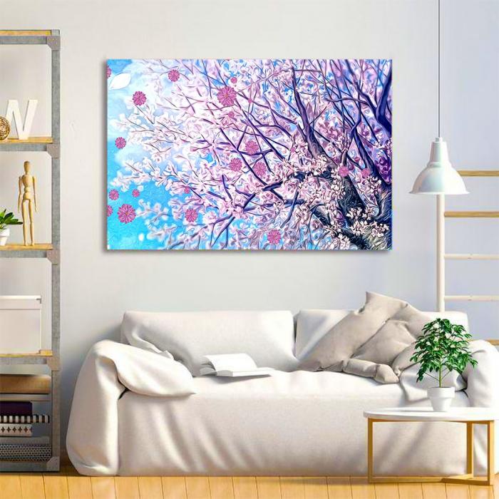 Tablou Canvas - Spring tree [2]