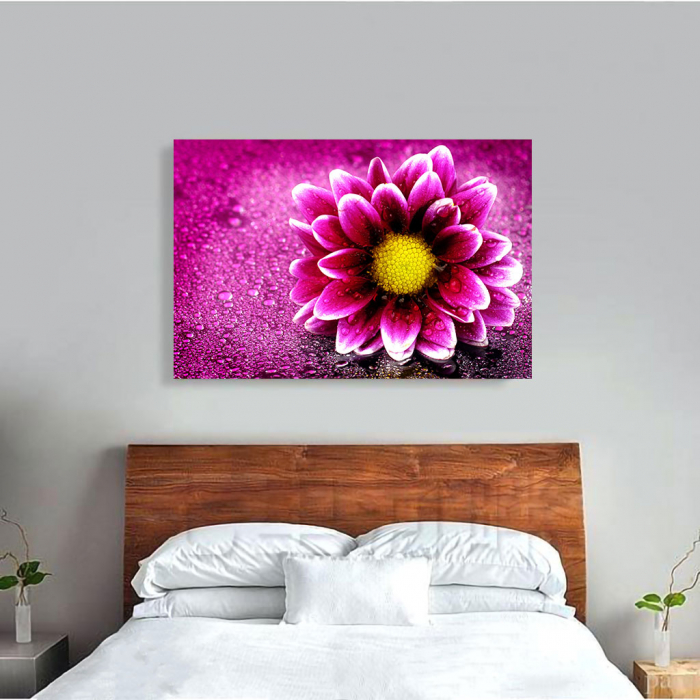 Tablou Canvas - Purple flower 1