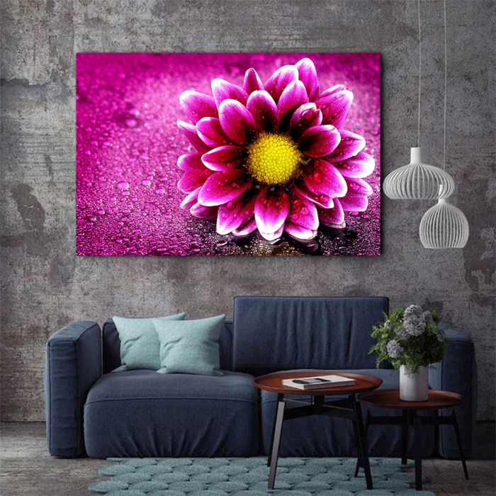 Tablou Canvas - Purple flower 2