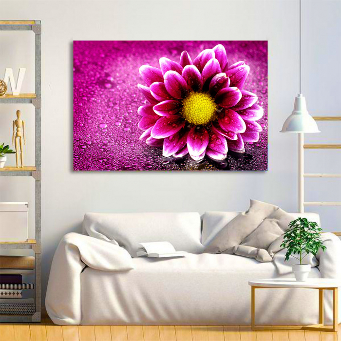 Tablou Canvas - Purple flower 3