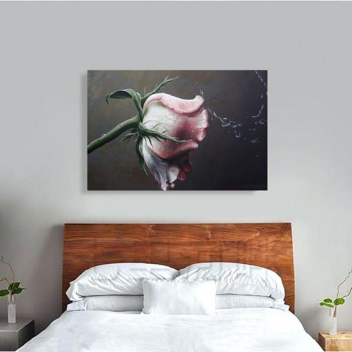 Tablou Canvas - Trandafir Macro 1