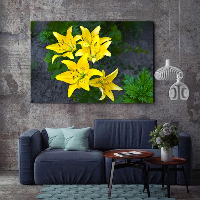 Tablou Canvas - Lilies 2