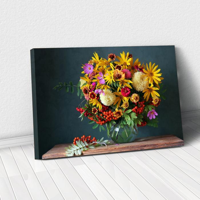 Tablou Canvas - Paleta de flori [0]