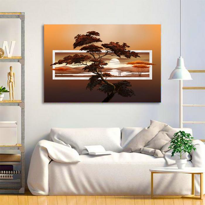 Tablou Canvas - Tree art 1