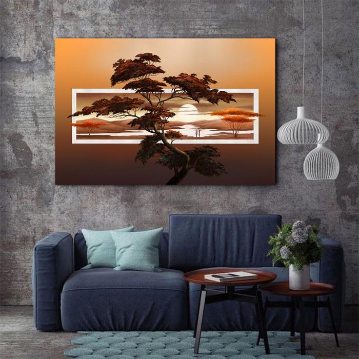 Tablou Canvas - Tree art 2