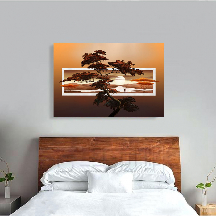 Tablou Canvas - Tree art [3]