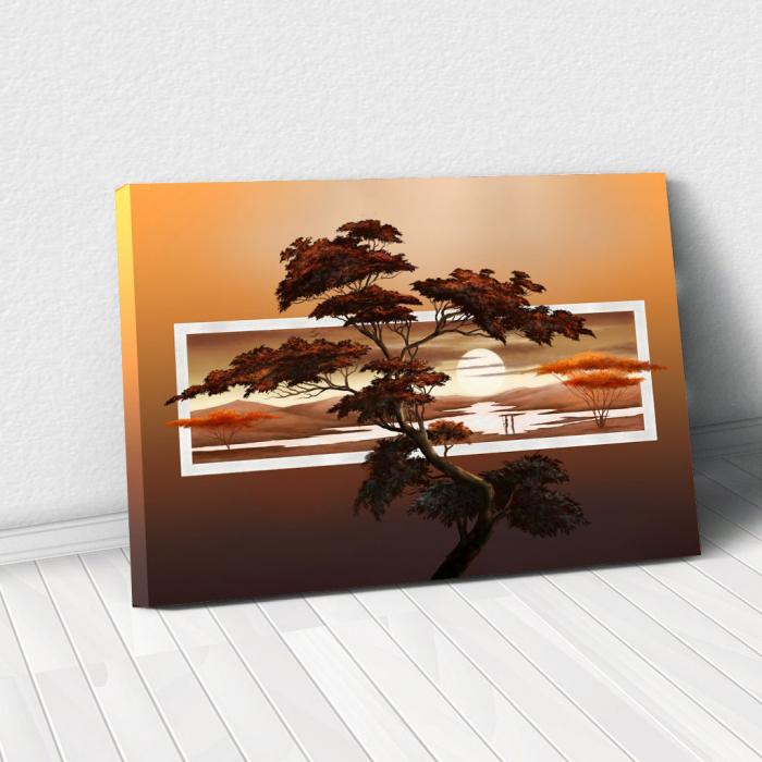 Tablou Canvas - Tree art 0
